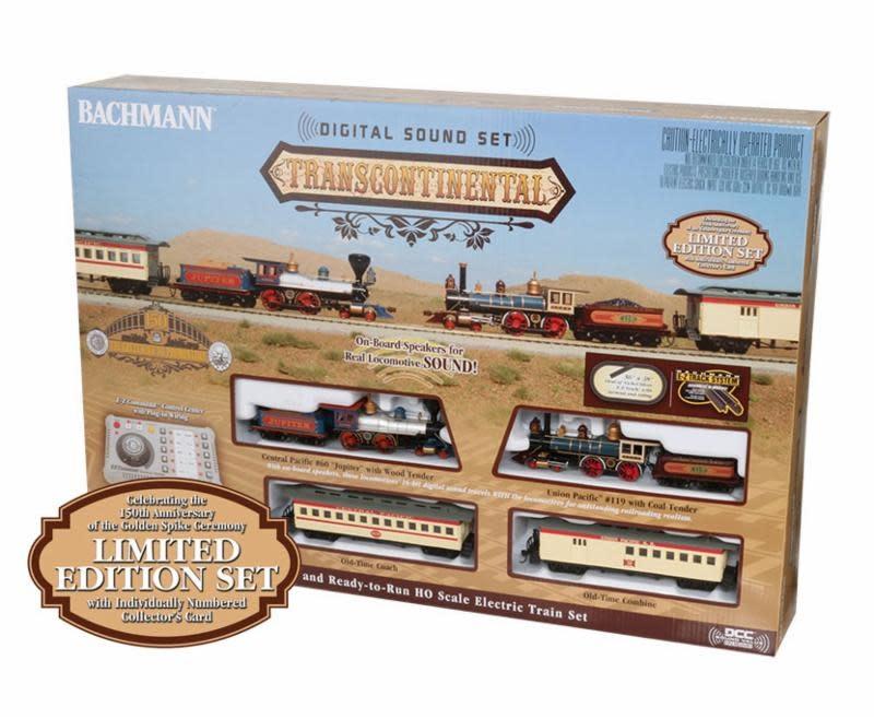 BACHMANN #BAC00827, Bachmann HO Transcontinental Set