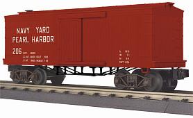 MTH - RailKing #30-74954, MTH Navy Yardb34' Box Car (19th Century)