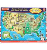 U.S.A. Map Sound Puzzle