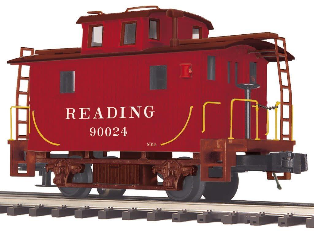 MTH - Premier #20-91656, Reading Bobber Caboose #90024, 90026