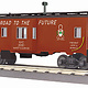 MTH - RailKing #30-77342, New York Central Bay Window Caboose