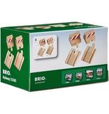 BRIO Ramp & Stop Track Pack