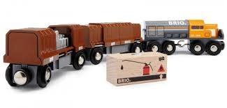 BRIO Box Car Train