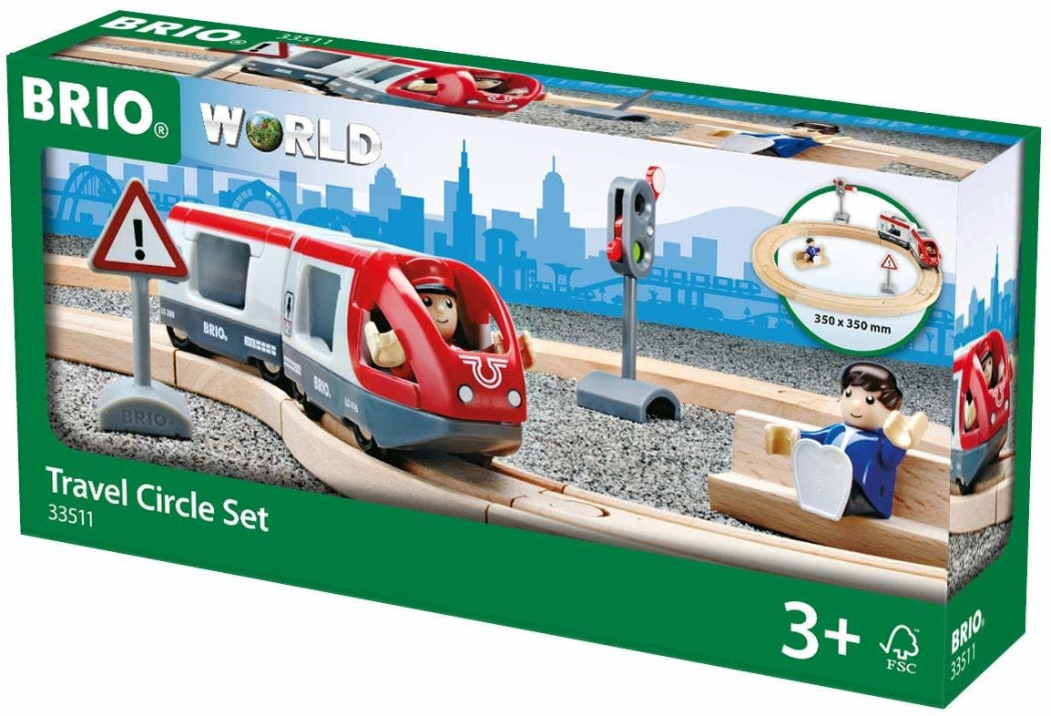 BRIO Travel Circle Train