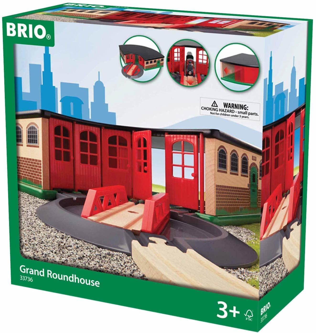 BRIO Grand Roundhouse