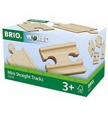 BRIO Mini Straight Tracks