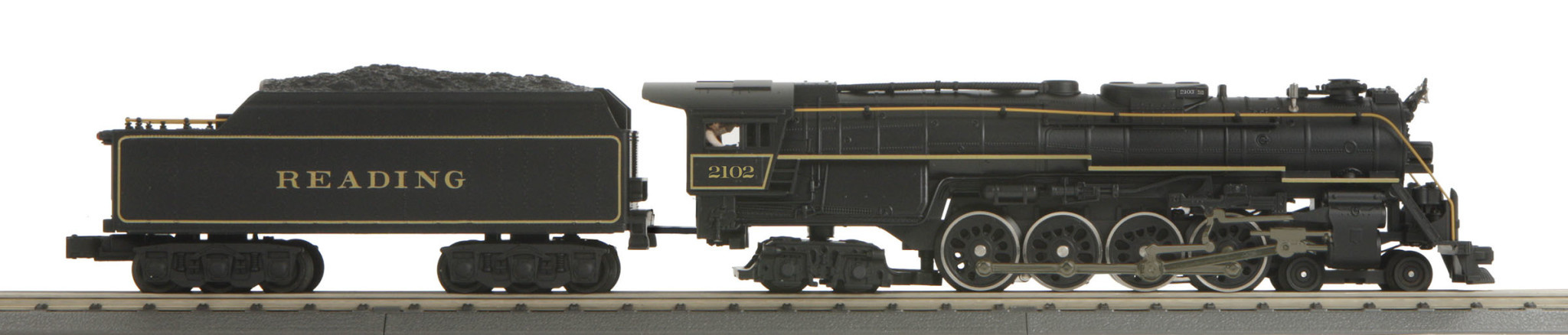 MTH - RailKing 30-1795-1 4-8-4 Imperial Reading Steam Engine Proto 3