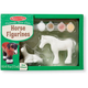 Melissa & Doug Horses Figurines - DIY Paint