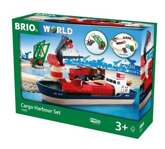 BRIO Cargo Harbor Set