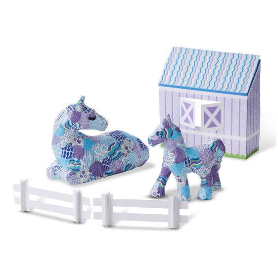 Melissa & Doug Decoupage Made Easy Deluxe Craft - Horse & Pony