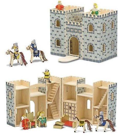 Melissa & Doug Fold & Go Castle
