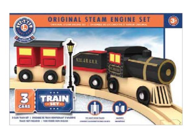 Lionel Lionel Original Steam Engine Set - Wooden