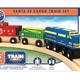Lionel Lionel Santa Fe Cargo Train Set - Wooden