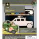 Dr Toys U.S. ARMY HUMVEE LICENSED WOOD PAINT KIT