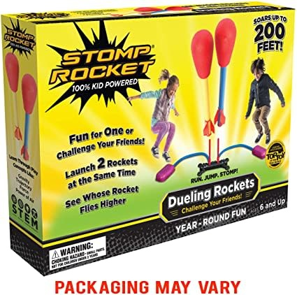 Stomp Rocket Stomp Rockets - Dueling Stomp Rockets