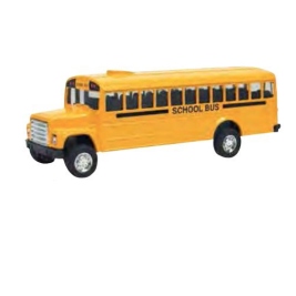 Schylling DIE-CAST BUS; PULL-BACK