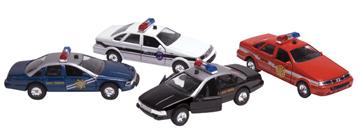 Kinsmart DIECAST SONIC POLICE/RESCU CAR
