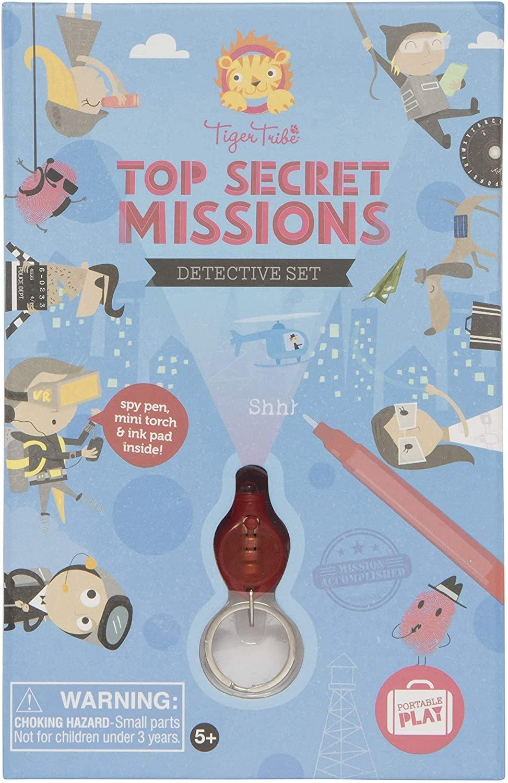 tiger tribe Top Secret Missions Detective Set