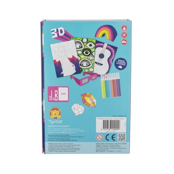 tiger tribe 3D Colouring Set - Rainbow Dream