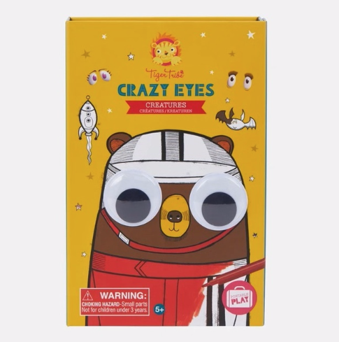 tiger tribe Crazy Eyes Creatures Activity Set