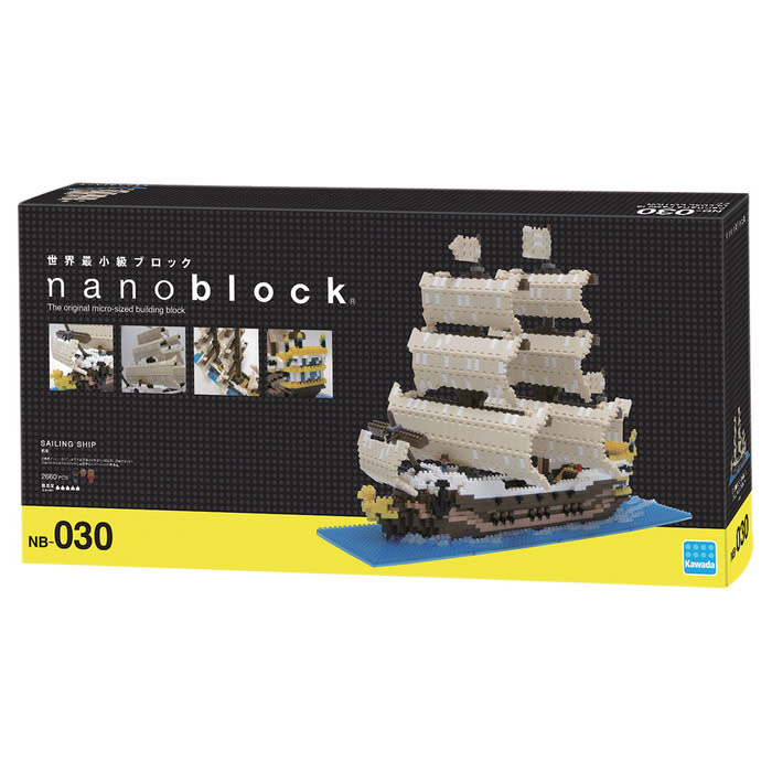 NANO BLOCK SAILING SHIP - NANO BLOCKS