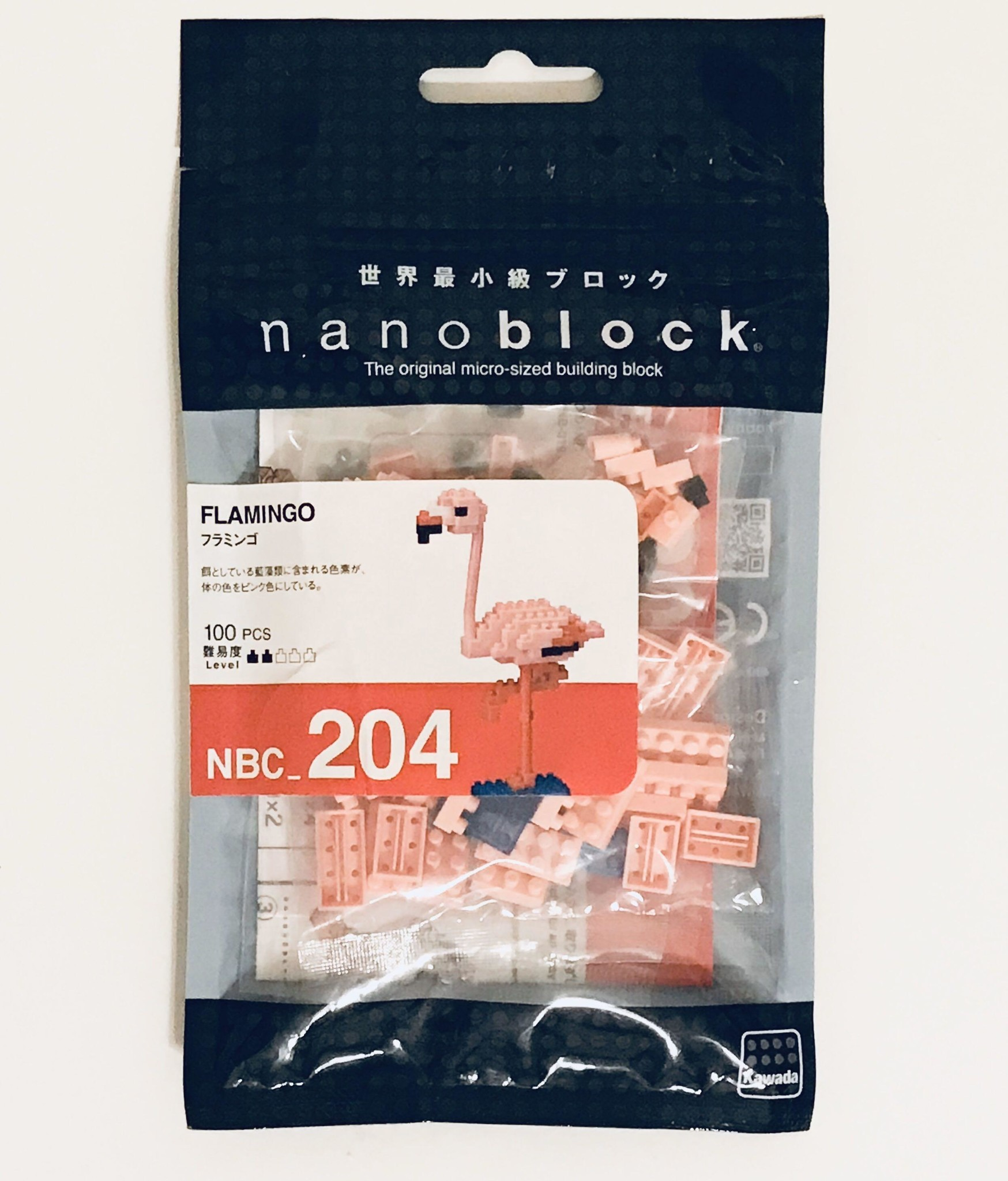 NANO BLOCK Flamingo - NANO BLOCKS