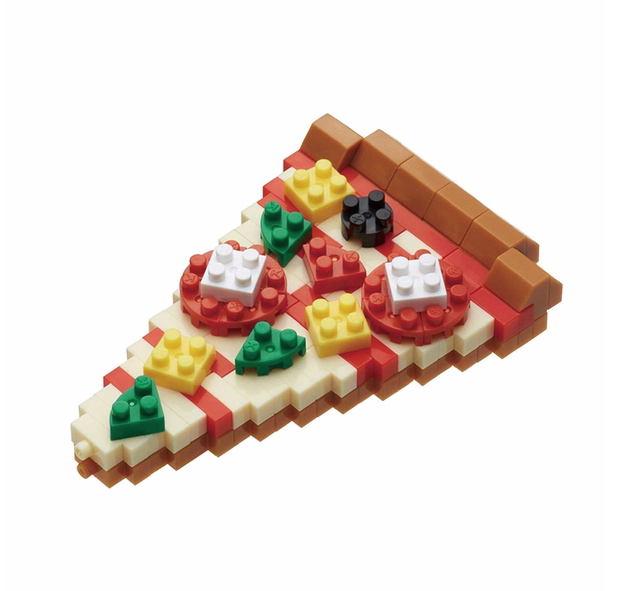 NANO BLOCK Pizza - NANO BLOCKS