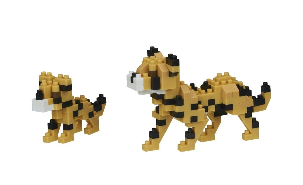 NANO BLOCK Cheetahs - NANO BLOCKS