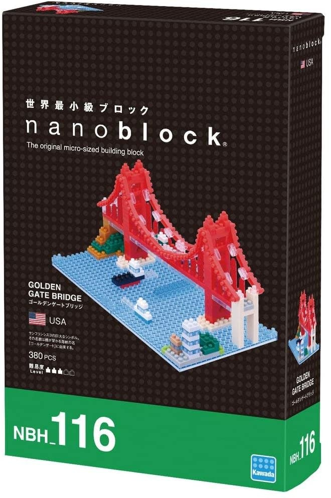 NANO BLOCK Golden Gate Bridge - NANO BLOCKS