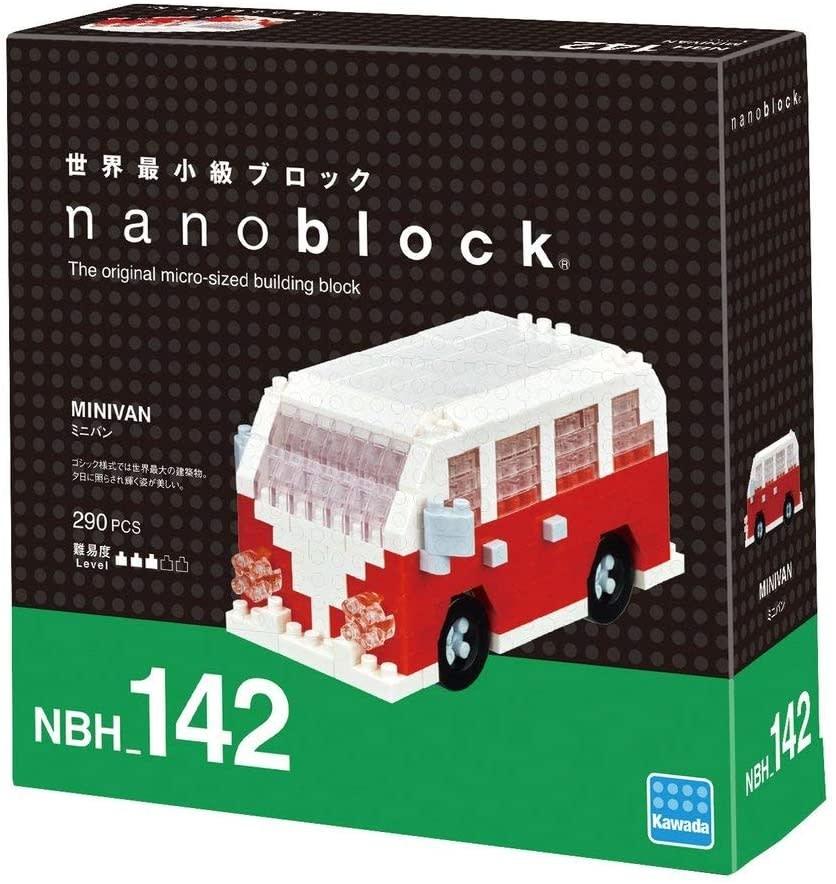 NANO BLOCK Minivan Building Kit - NANO BLOCKS