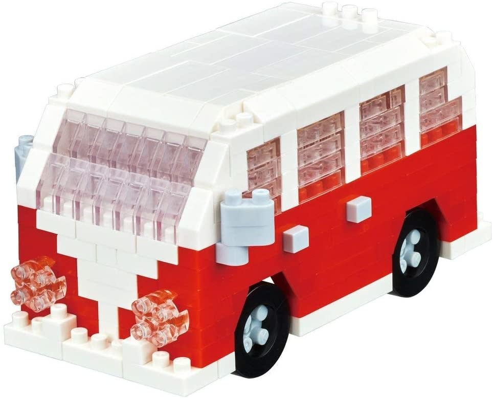 NANO BLOCK Minivan Building Kit - NANO BLOCKS