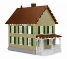 #30-90572, Row House #2 w/Christmas LED