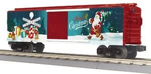 #30-71019, MTH Christmas Boxcar w/Blinking Lights