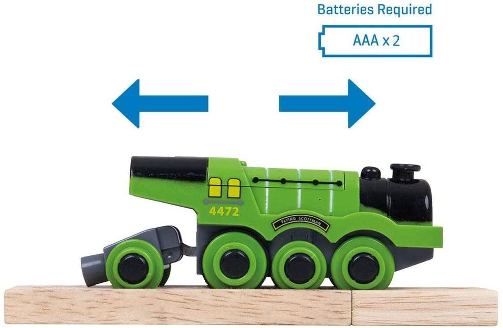 Big Jig Toys Flying Scotsman Battery Engine