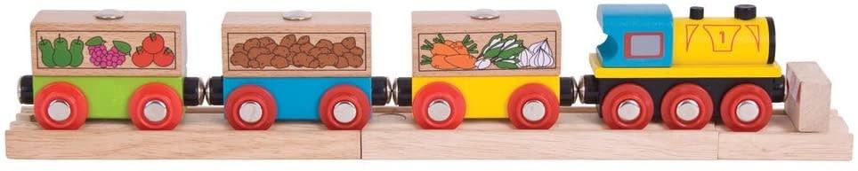 Big Jig Toys Fruit & Veg Train