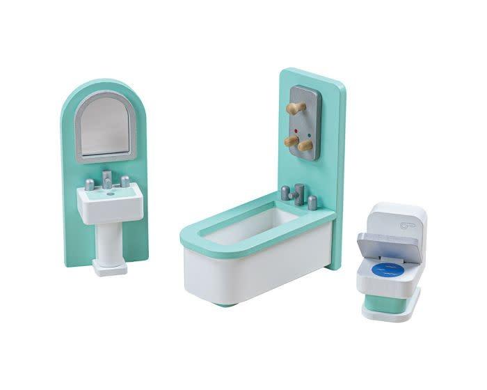 Big Jig Toys Dollhouse - Bathroom Furniture