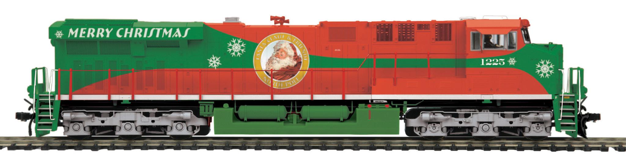 MTH - HO 80-2351-1 HO Christmas Engine