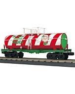 MTH - RailKing #30-73568, MTH Christmas Smoking Tank Car