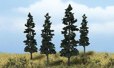 DIORAMA CONIFER TREES