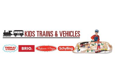 KIDS TRAINS & VEHICLES