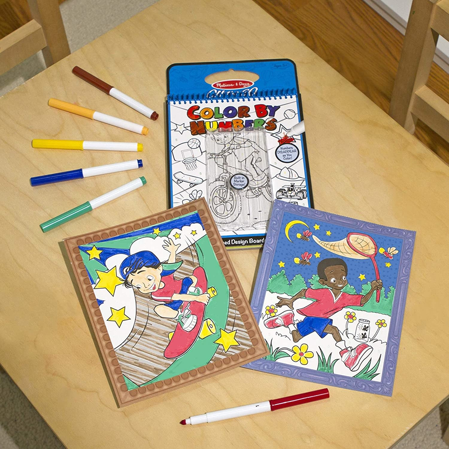 Melissa & Doug Color By Numbers - Blue