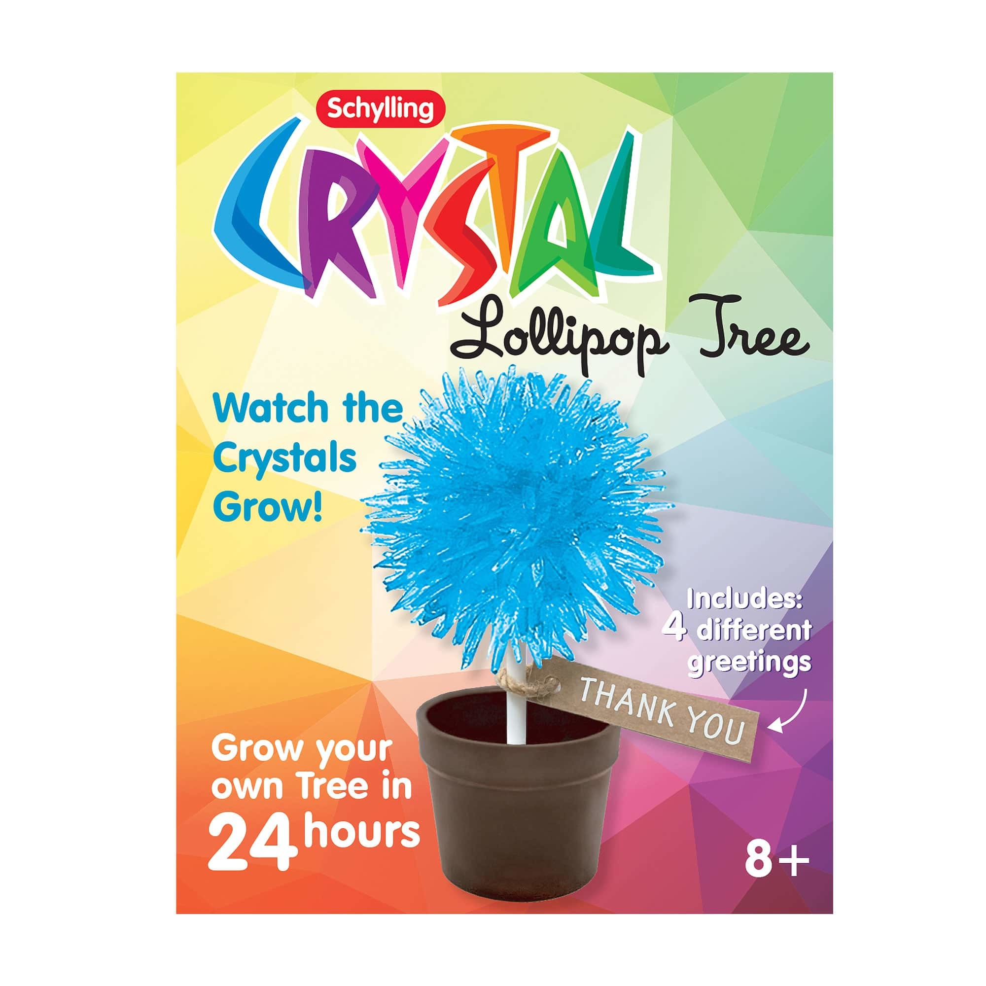Schylling CRYSTAL LOLLIPOP TREE