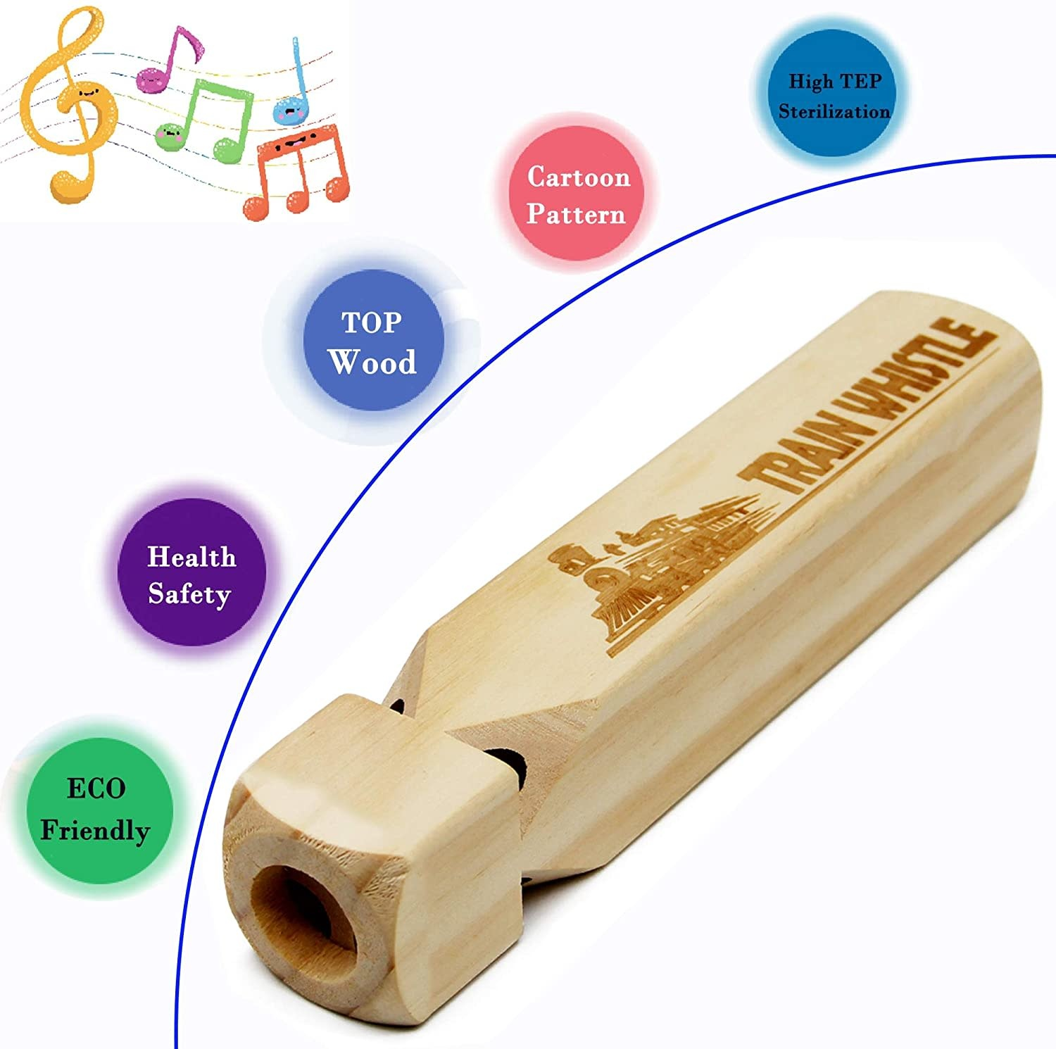 WHISTLE WOODEN