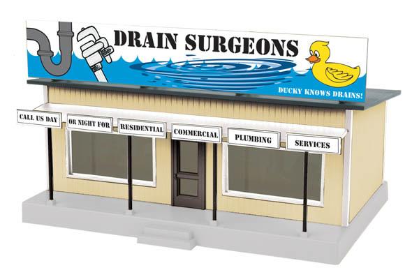 MTH Drain Surgeons Roadside Stand