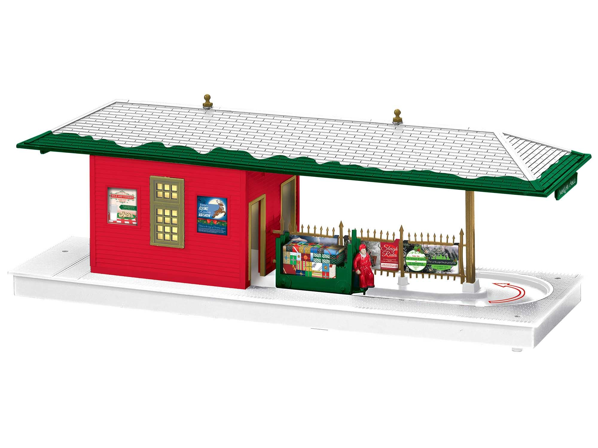 Lionel #2029180, Lionel Christmas Operating Freight Station