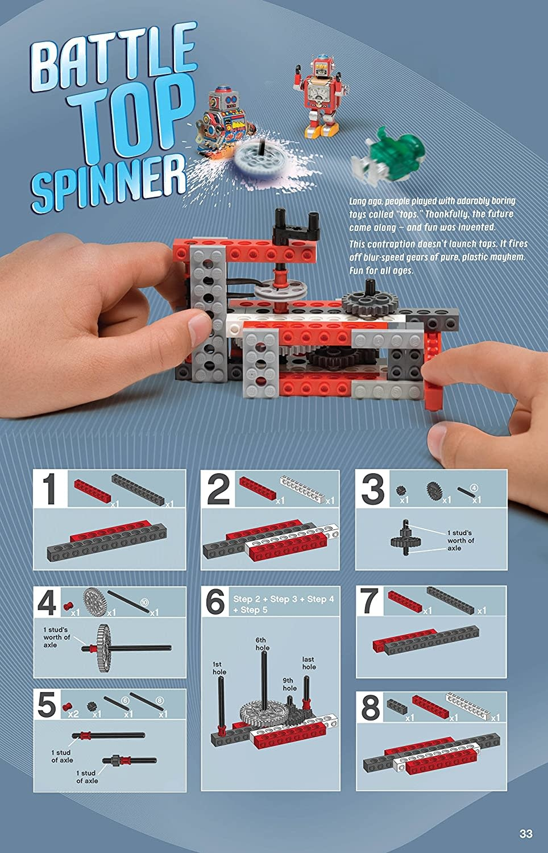 KLUTZ Klutz Lego Chain Reactions Science/STEM Activity Kit