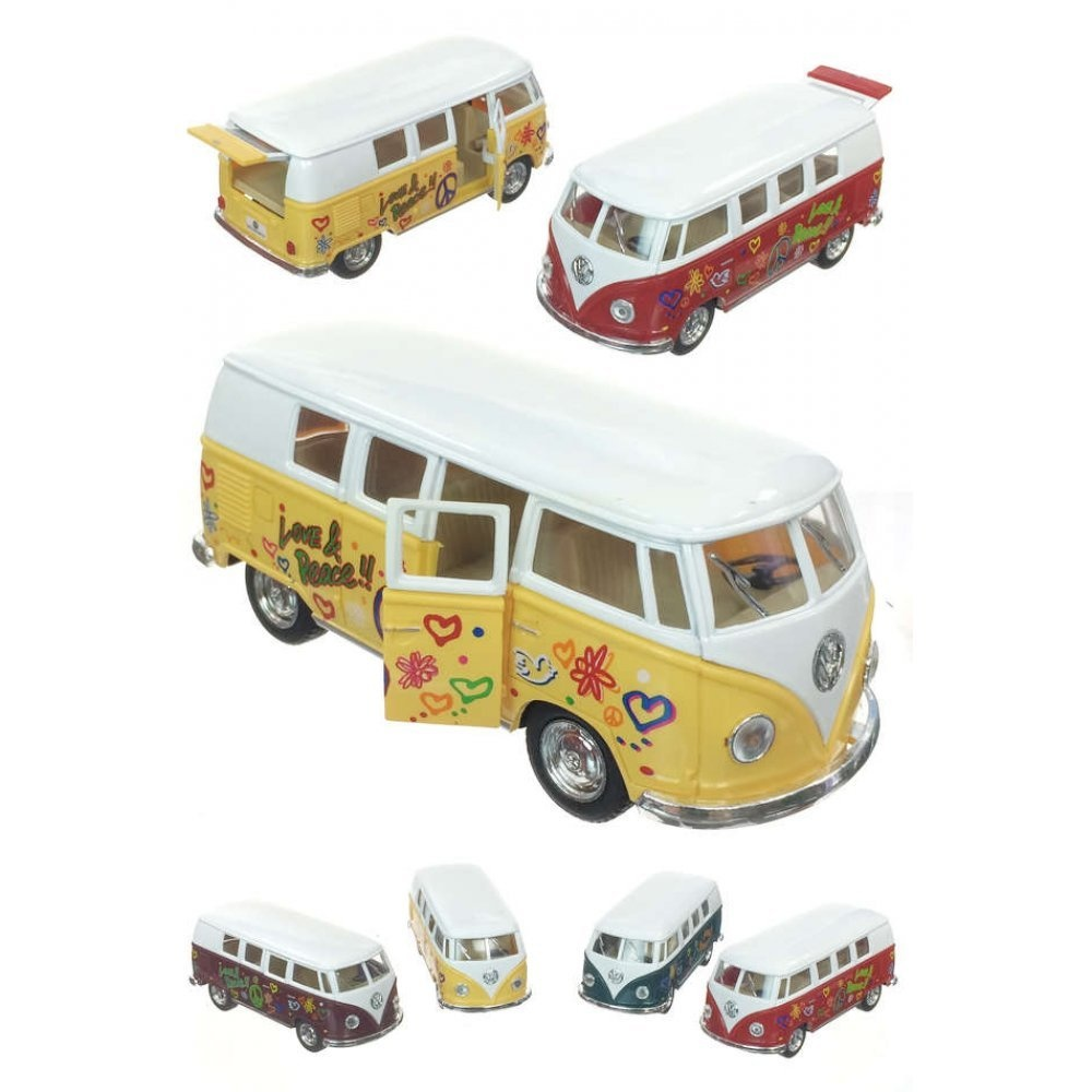 Guillows DC 62' Vw Classic Bus - Friction Pull Back