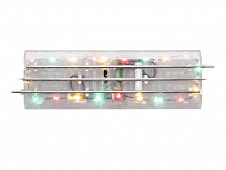 """Lionel Lighted FasTrack 10"""" Straight 4-Pack"""