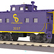 Mikes Train House 30-77353 C&O Steel Caboose