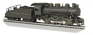 BAC 50612 USRA 0-6-0 Tender/Smoke B&O HO